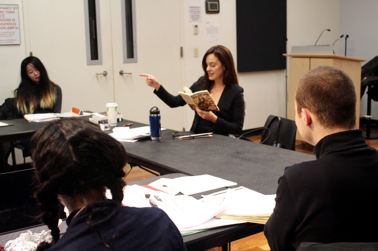 ALEXANDRA VAZQUEZ IN CONVERSATION AT CUNY