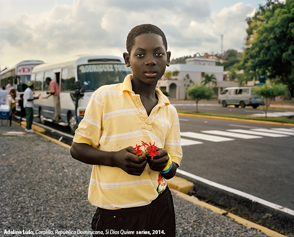 environmental portrait of a boy in Dominican Republic
