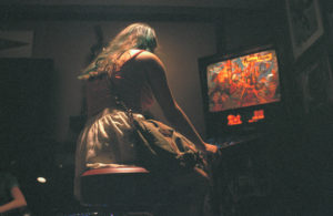 playing pinball