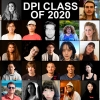 A grid of photos for each of the DPI graduates in the class of 2020