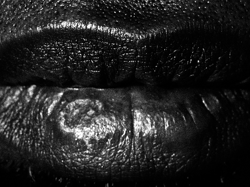Photo of lips by Rene Pena