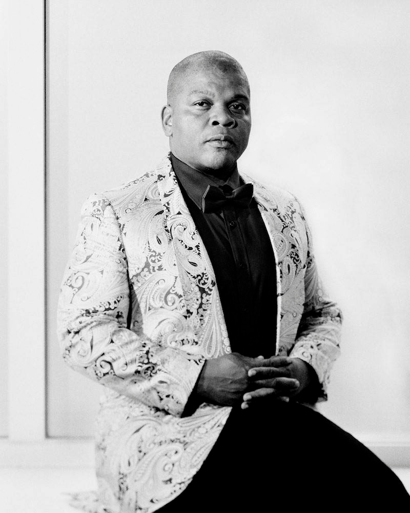 formal portrait of kehinde wiley