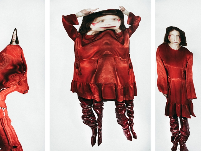 manipulated fashion by olga ush