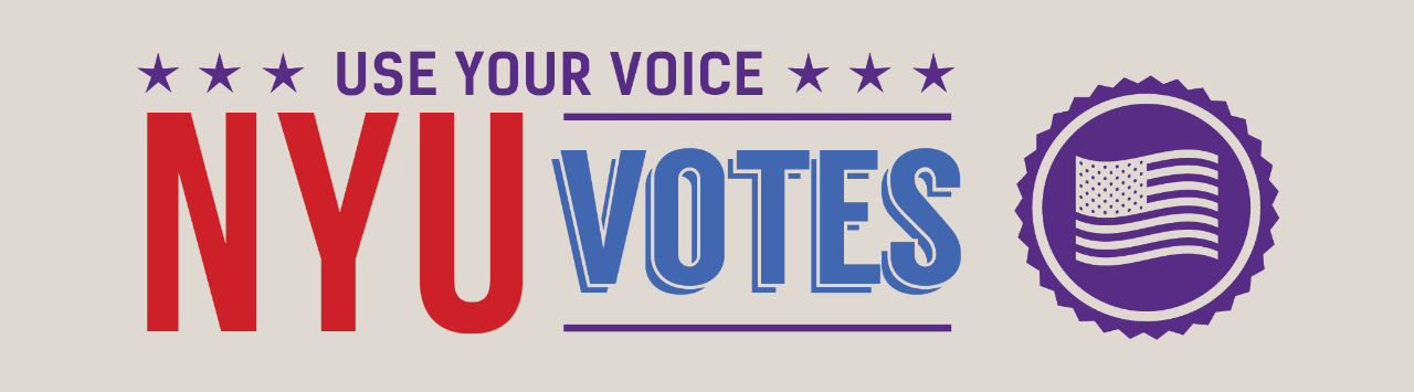 Use Your Voice, NYU Votes
