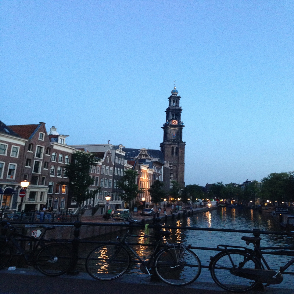 Photo of Amsterdam.