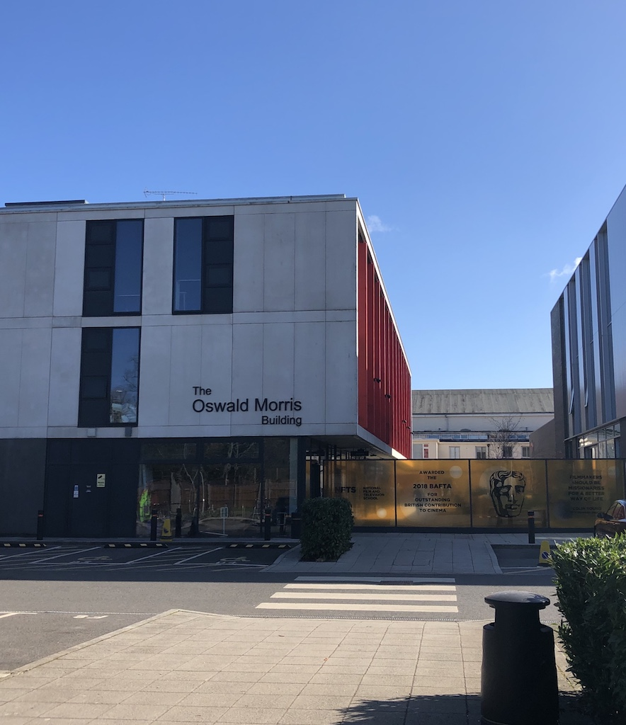 The Oswald Morris building at the National Film and Television School