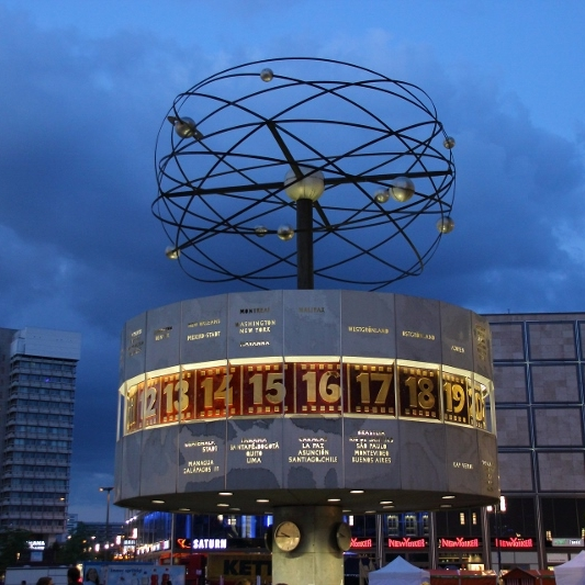 World Clock, Berlin