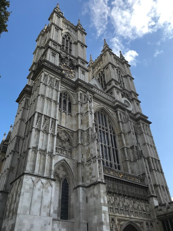 Westminster Abbey during the day