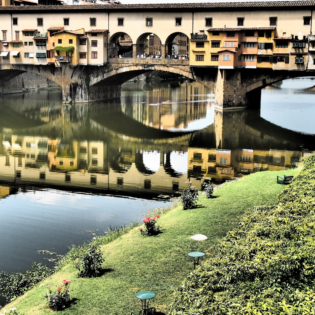 Canals in Florence, Italy