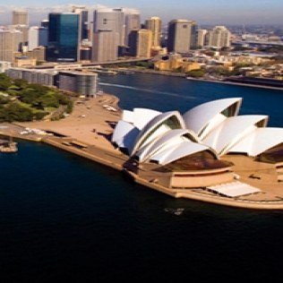 Photo of the Sydney Opera House.