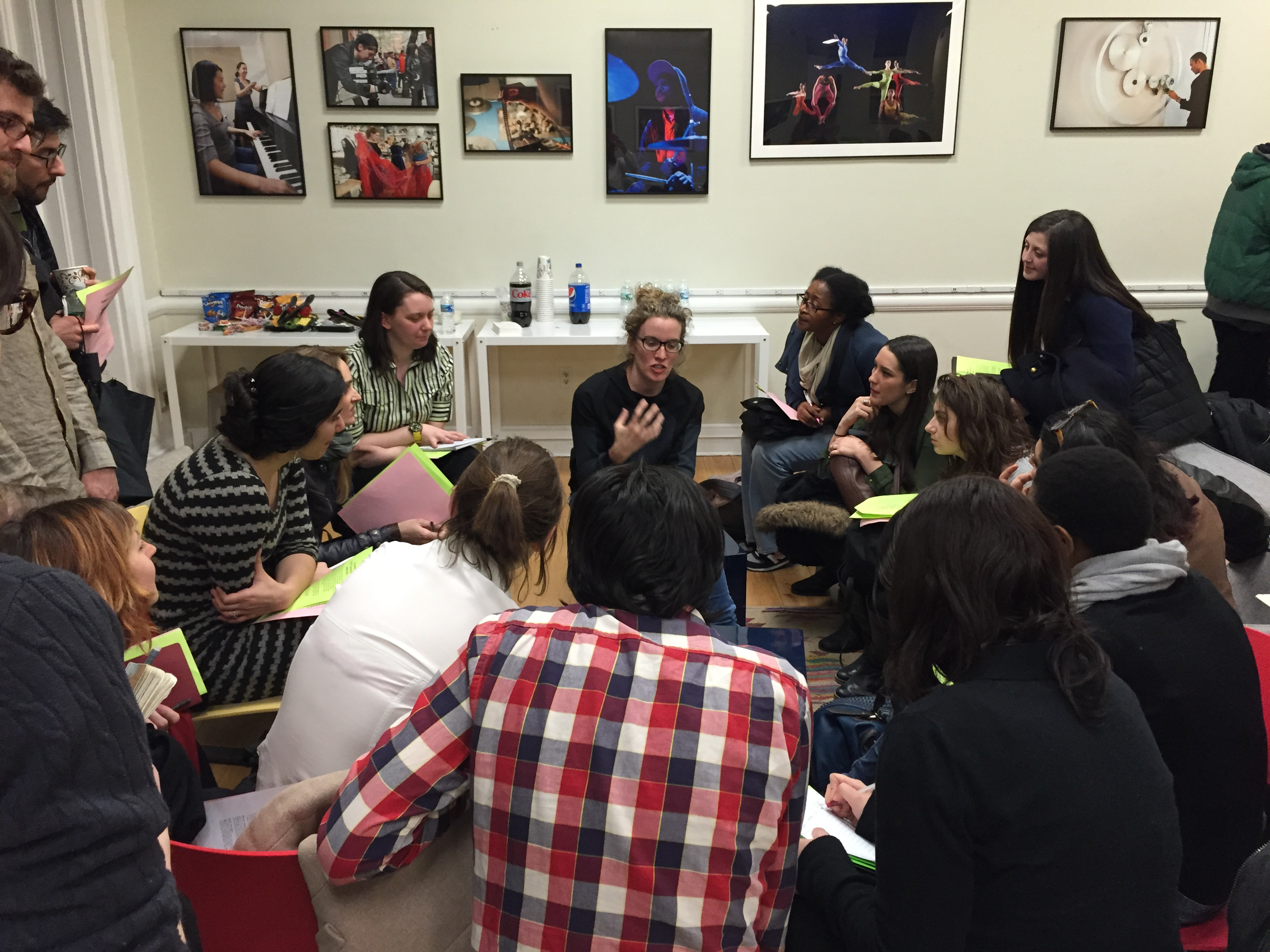Career development for Nyu tisch design faculty