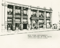 1983 - Tisch School of the Arts Moves to 721 Broadway